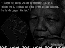 """""""Bravo não é quem não sente medo, é quem o vence."""""""