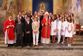 en el sitio de nuestra parroquia www.kristuskonungen.se me encontré