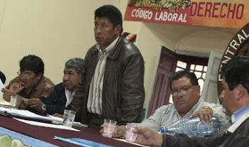 el gobierno quiere tener un sindicalismo domesticado y doblegado