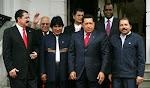 los cuatro (del alba) se reúnen en Caracas