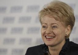 dalia grubaiskaute presidenta de letonia almuerza en rosenblad