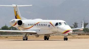 este avión comprado por Ecuador de características similares al de Evo costó