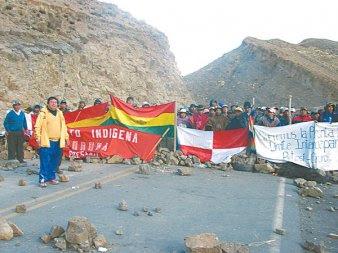 al llegar al décimo primer día de protesta contra Evo Potosí sigue de pie