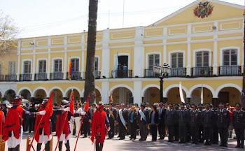 concentrada la atención de Bolivia en Cochabamba