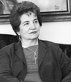 falleció hace pocas horas. conservó su título de Presidenta del Senado Nacional