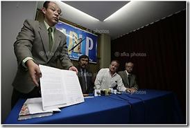 los periodistas colegiados de La Paz se indignaron ante el insulto del vicepresidente García Linera