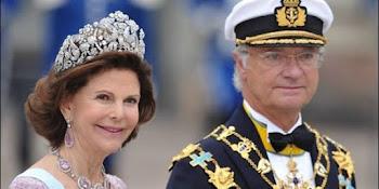 Carlos Gustavo XVI y Silvia reyes de Suecia presidirán la ceremonia