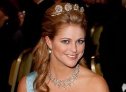 recién el 20 de diciembre estará en Estocolmo la princesa Madelaine actualmente en EEUU