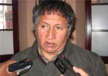 """Jaime Solares dirigente obrero en Oruro asegura que se luchará  """"contra el derechista Evo"""""""