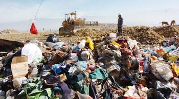 talvez de mal gusto en un día como hoy exhibir basura en Cochabamba