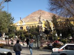 ya nunca más lucirá el Cerro Rico esa cúspide triangular que le dió fama