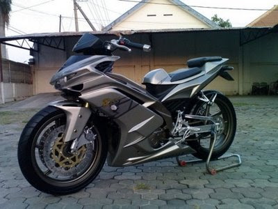 Jok Motor Modif Yamaha Mio