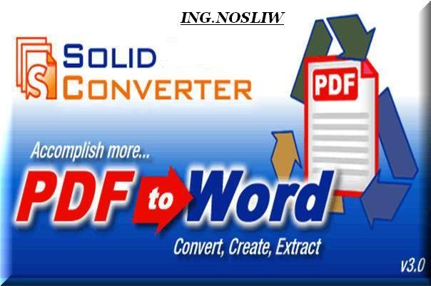 Programa Para Convertir Pdf A Word Gratis