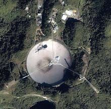 Radiotelescopio de Arecibo- Puerto Rico.