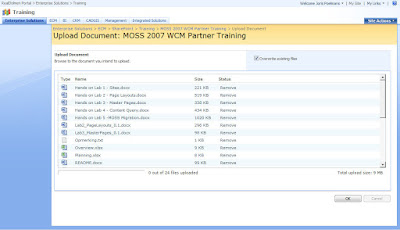 Upload videos to sharepoint 2010 jquery