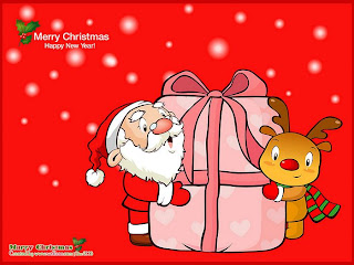 Funny christmas wallpapers, christmas fun wallpaper