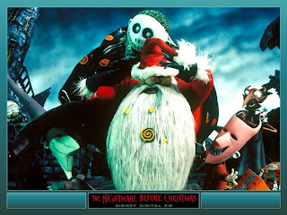 Computer Wallpaper On Nightmare Before Christmas