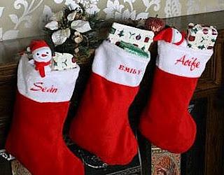 Free Christmas Stocking Wallpaper