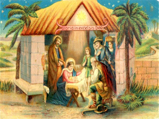 Free Christmas Nativity Wallpaper