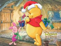 Winnie The Pooh Christmas Wallpaper
