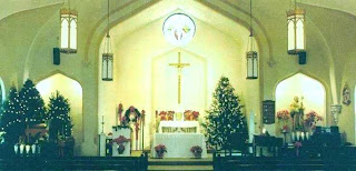 Free Christmas Church Wallpaper