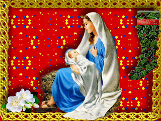 Holy Mother Mary Wallpaper