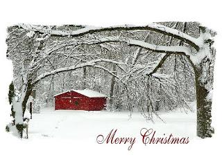 Snowy Christmas Desktop Wallpapers