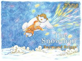 Funny Snowman Christmas Wallpaper