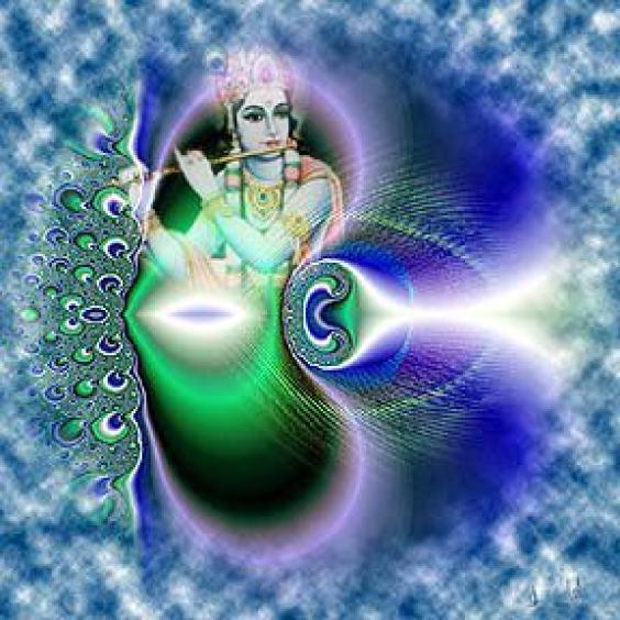 Send your loved ones beautiful wallpapers of Lord Krishna to set up their