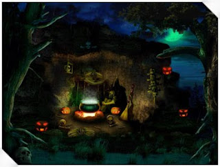 Animated Halloween Night Wallpapers