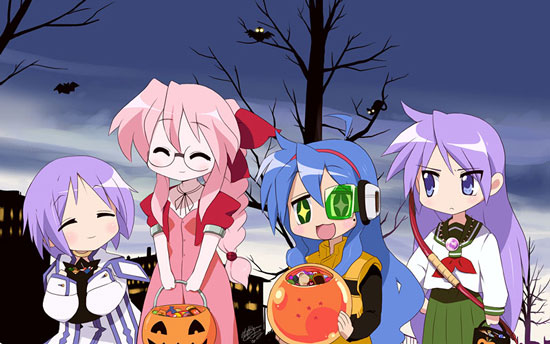 Anime Characters For Halloween : Free halloween wallpapers mmw anime