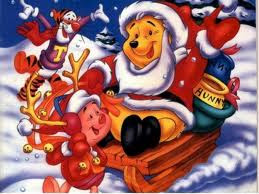pooh cartoon xmas picture