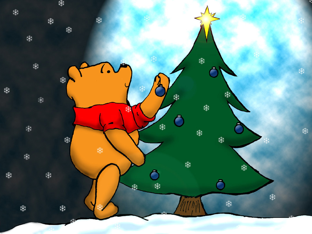 Winnie The Pooh Christmas Wallpapers
