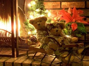 christmas teddy bear pictures