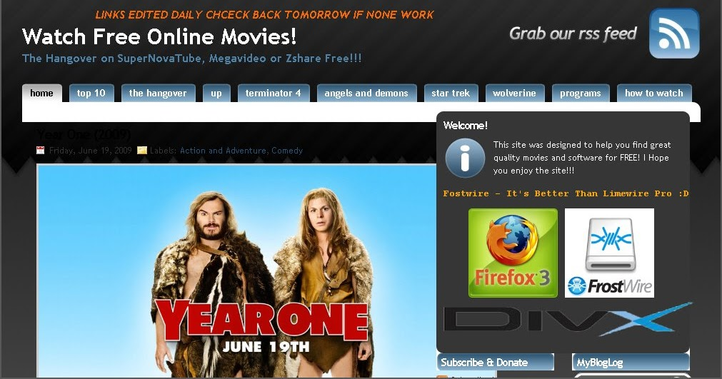 Free Movie Websites To Watch Free Movies Online Without