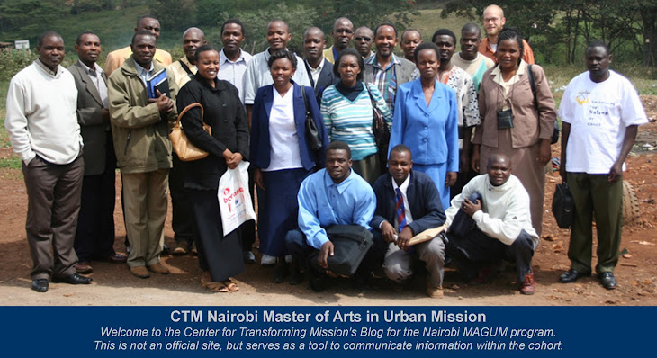 CTM Nairobi Masters of Arts in Urban Mission