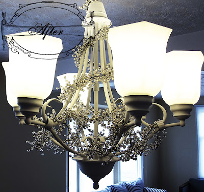 decorating a chandalier