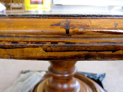 fixing up scratches on wood furniture