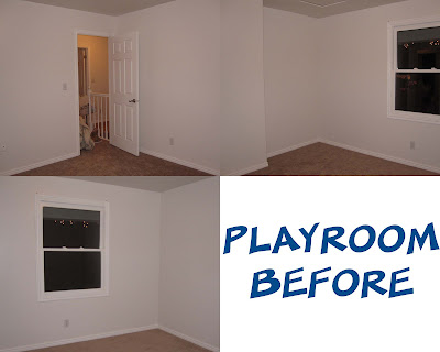 Dr.Seuss playroom before