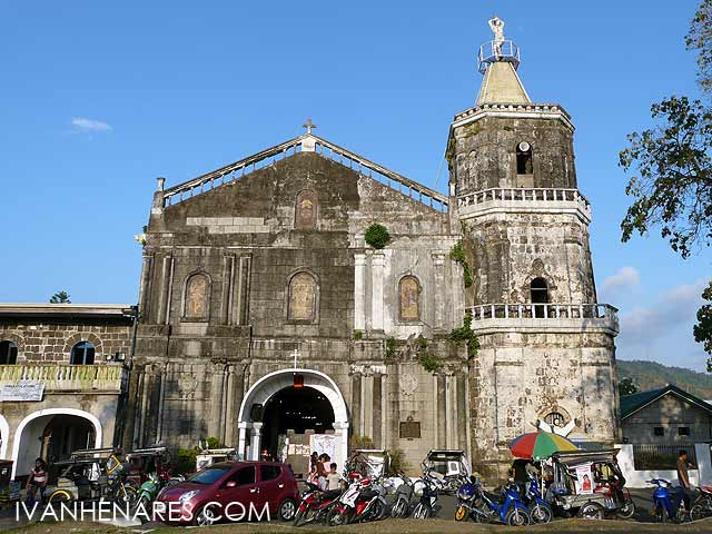 Lumban Philippines  city images : The Lumban Church or San Sebastian Church is located in Lumban, Laguna ...