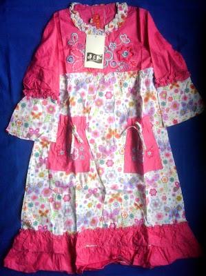 Baju Muslim anak-anak perempuan 1