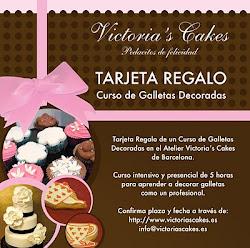 REGALA un CURSO de Victoria's Cakes
