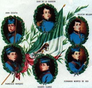13 de septiembre niños héroes