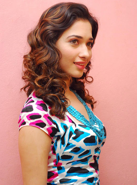 Tamanna in Cute Dress Spicy Photos