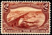 Η.Π.Α. σπάνιο γραμματόσημο