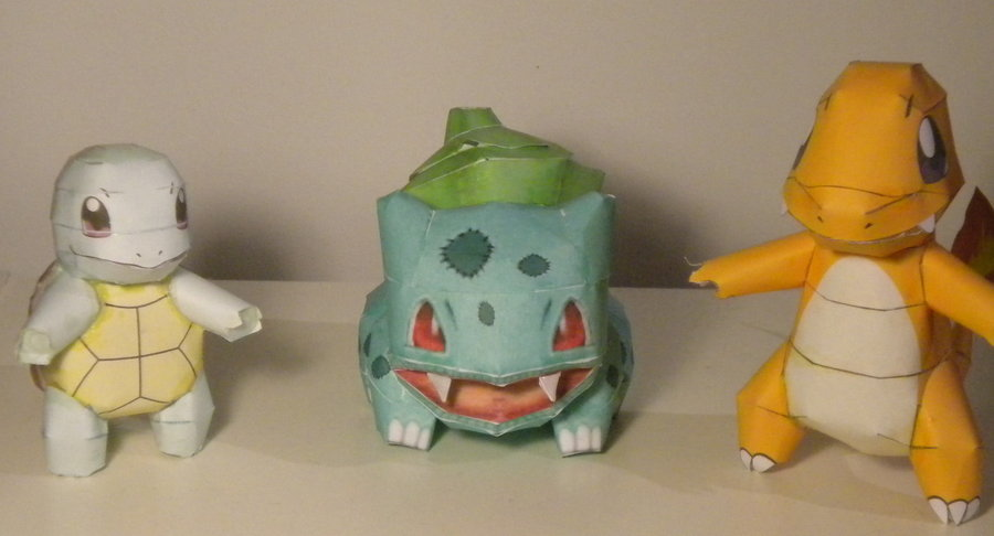 151 Paper Pokemon 1 2 3
