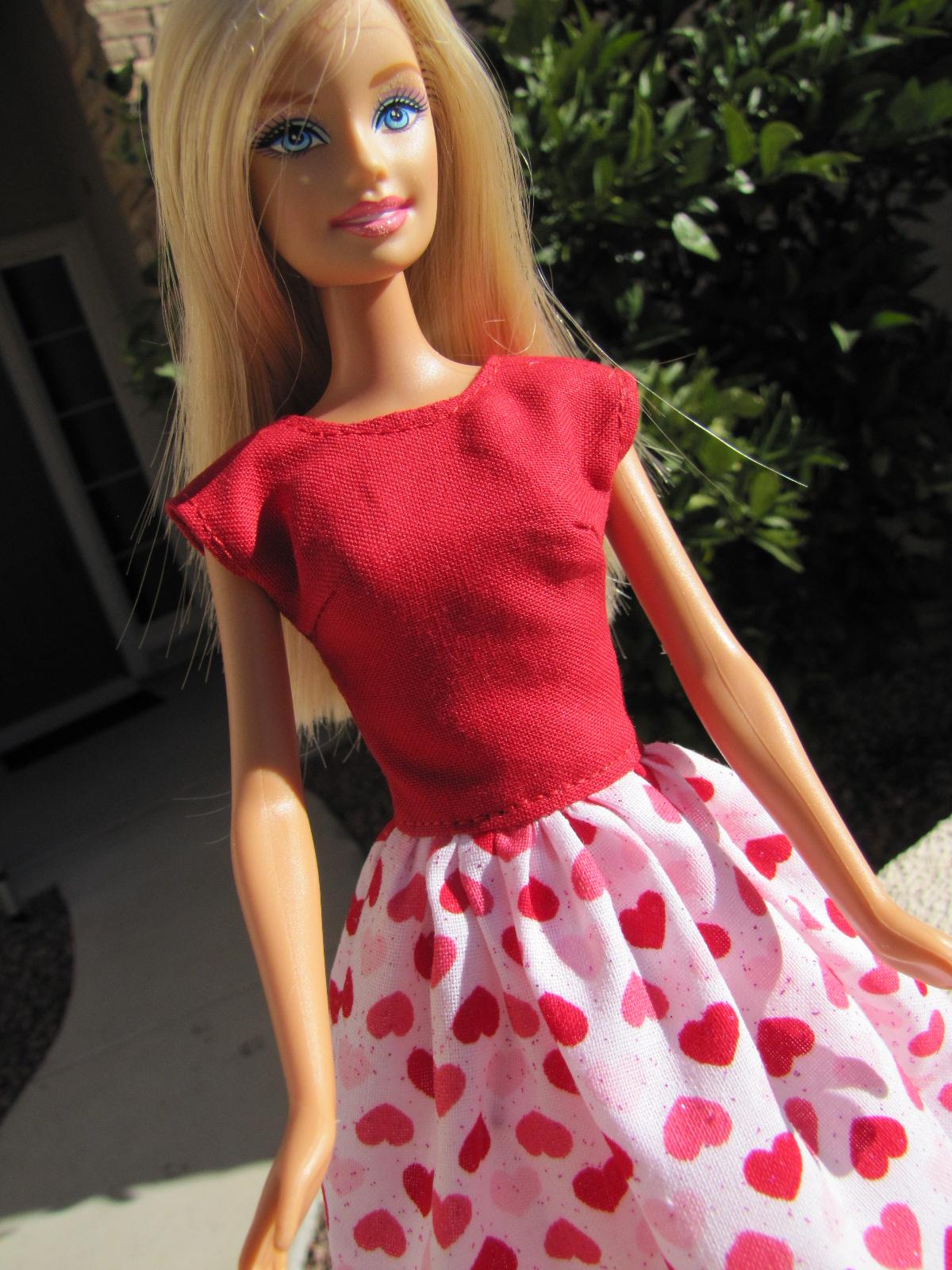 modest barbie style: valentine's day darling, Ideas