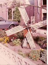 Moínho miniatura holandês