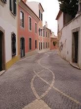 Rua típica de Cascais