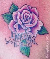 Tatouage Rose Mondialtatouage